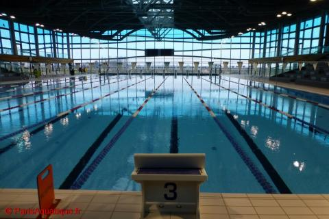 Stages sportifs paris aquatique for Piscine 50m paris