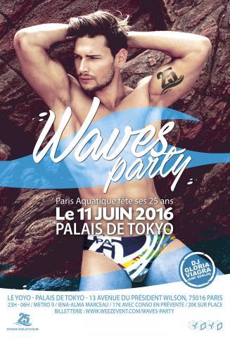Waves Party au Palais de Tokyo